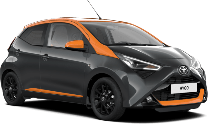 Toyota Aygo - X-Edition JBL X-shift - Хечбек 5 врати