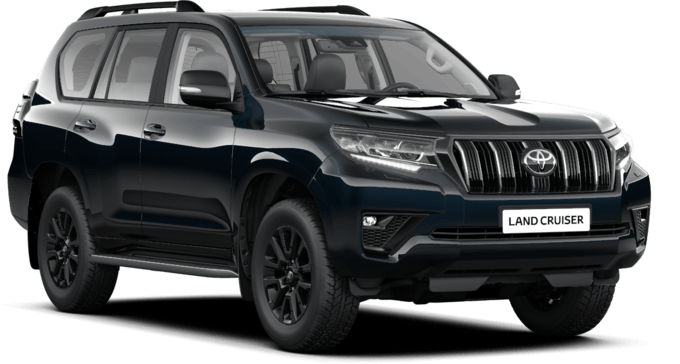 Toyota Land Cruiser - Black Edition - Maastur