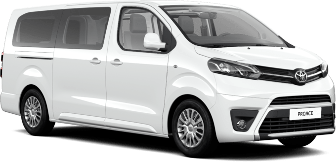 Toyota Proace - Shuttle - Larga Business 8 o 9 plazas