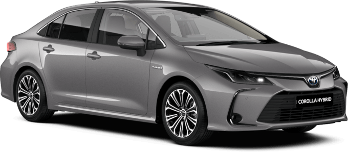 Toyota Corolla Saloon - Design - 4 Door