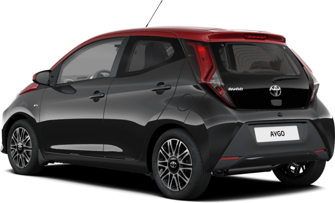 Toyota AYGO - SELECTION X-CITE BLACK - 5 ajtós hatchback