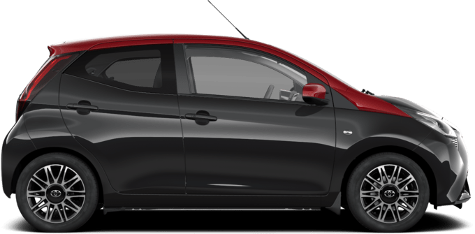Toyota AYGO Connect - x-clusiv red style - 5 Porte