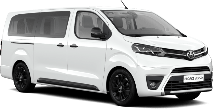 Toyota PROACE VERSO - Long Black Edition - Long porta doppia