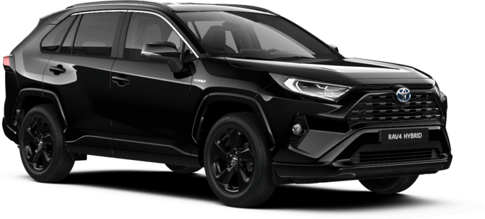Toyota RAV4 - Black Edition - Visureigis