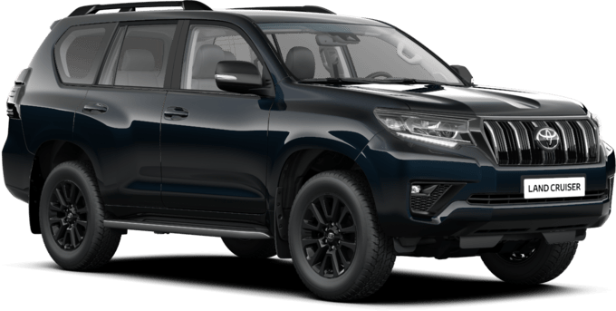 Toyota Land Cruiser - Black Edition - 5-дверный SUV (LWB)