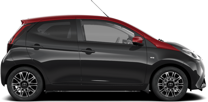 Toyota AYGO - Selection x-cite (Red Roof) - 5-drzwiowy hatchback