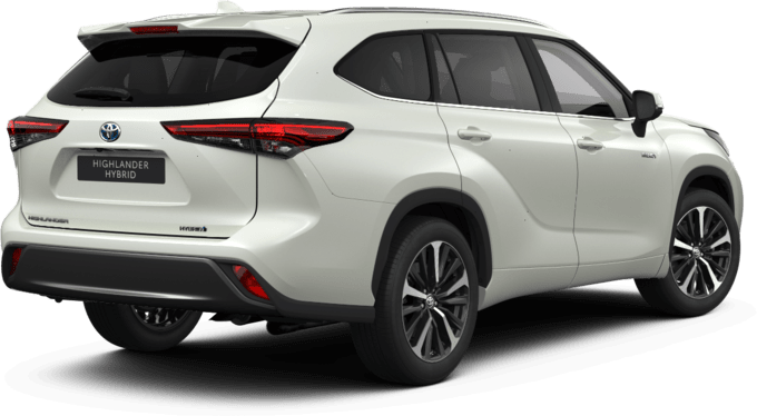 Toyota Highlander - Luxury Pearly - SUV