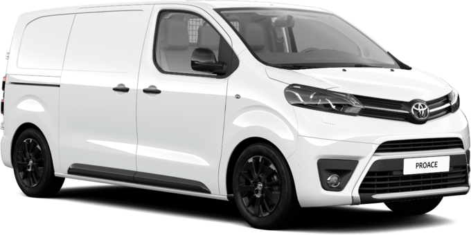 Toyota PROACE - Black Edition - Medium 2 dörrar