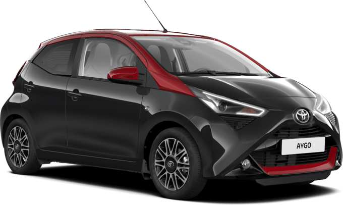 Toyota AYGO - Selection x-cite Black - 5-dv.