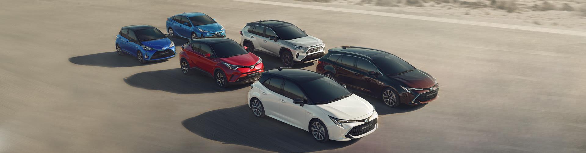 Gama de vehículos híbridos Toyota de segunda mano y ocasión
