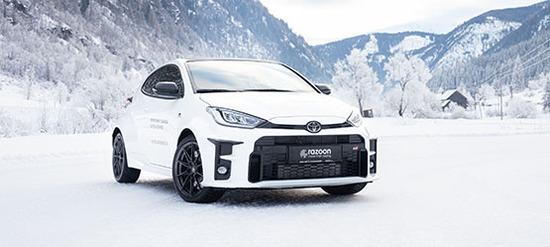 Toyota GR Yaris Drifttraining auf Eis & Schnee