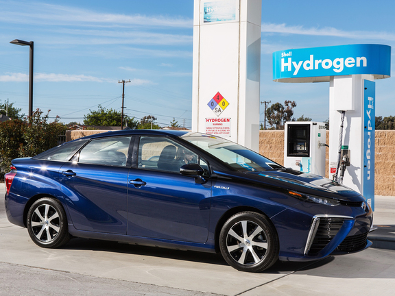 Toyota Mirai A Hidrogenhajtasu Auto